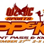 PUNT, PASS, KICK COMPETITION! FREE WZBC SPORTS EVENT TODAY!