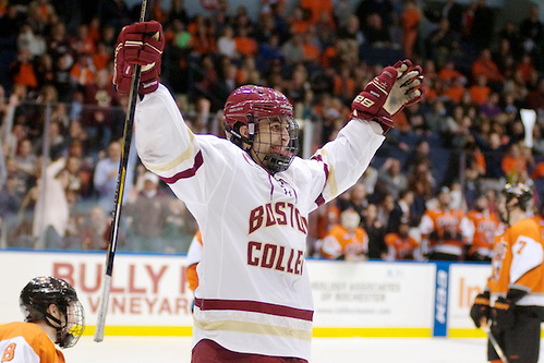 Sophomore forward Alex Tuch. (Photo: Omar Phillips)