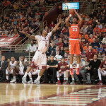 Milon's Hot Streak Not Enough, Eagles Fall to 'Cuse