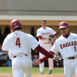 Eagles Outlast Demon Deacons to Win Doubleheader Daycap