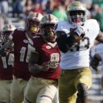 Eagles Show Grit and Heart, But Come Up Short 49-20 to Notre Dame