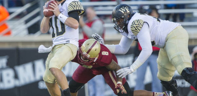 Boston College Stumbles in First Home Game Against Wake Forest, 34-10