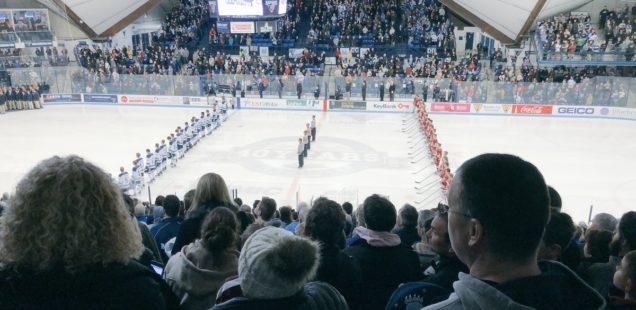 Men's Hockey Closes in on Hockey East Regular Season Title