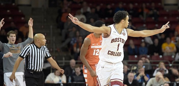 Eagles Close Out Impressive Season at Conte Forum with a Flourish, Defeat Syracuse 85-70
