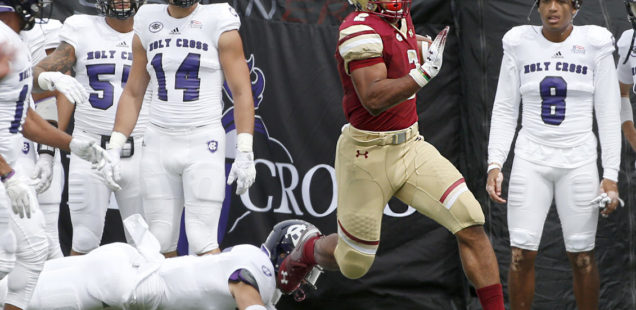 Boston College blows out Holy Cross to open up 2-0 for first time since 2015