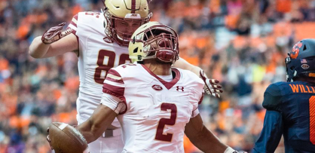 BOSTON COLLEGE ENTERS AP TOP 25 POLL AT #23