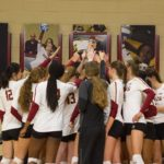 Women's Volleyball off to a scorching start
