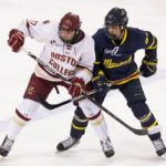 Men's Hockey picks up its first points of the season against Merrimack