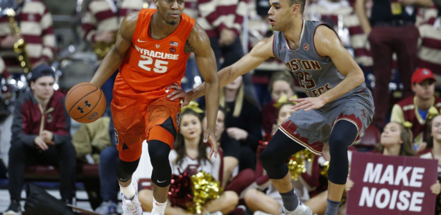 Tyus Battle Leads Syracuse to Victory over BC