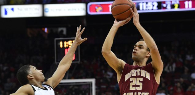 BC Falls to Louisville 80-70, Drops to 0-4 in ACC