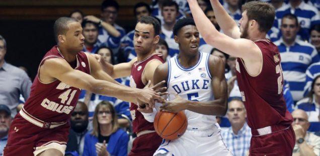 Duke Dominates in 80-55 win over BC