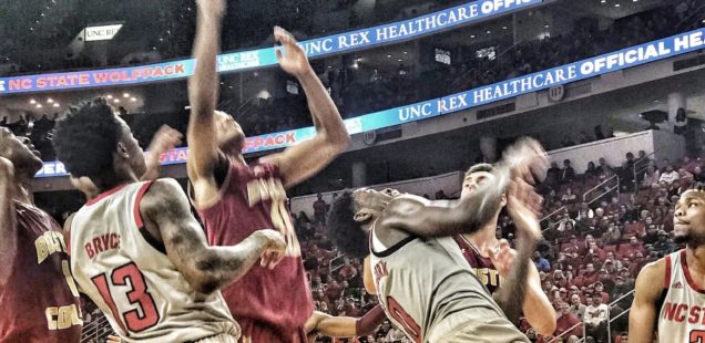 NC State Survives OT Scare Against BC