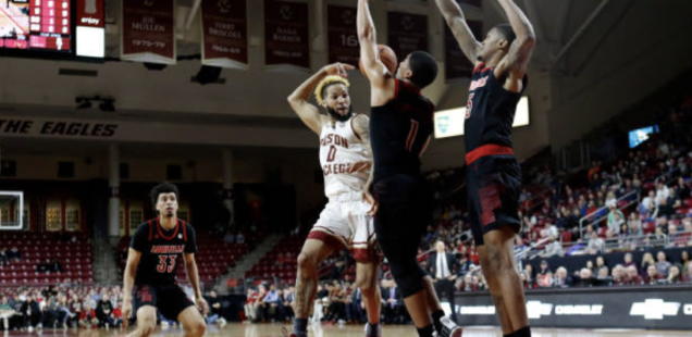 Bowman, BC Hold Off Louisville with Late Surge
