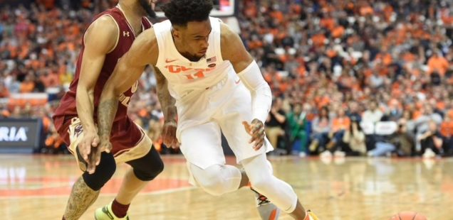 Syracuse Completes Season Sweep of Eagles in 67-56 Victory