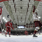Eagles Skate Past Badgers in Season Opener