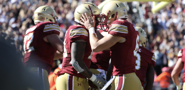 AJ Dillon and David Bailey Get Boston College Up and Running on the Road to Clemson