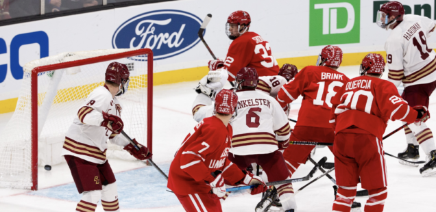 Boston University Stuns, Upsets Boston College with Late Comeback in Beanpot Opening Round